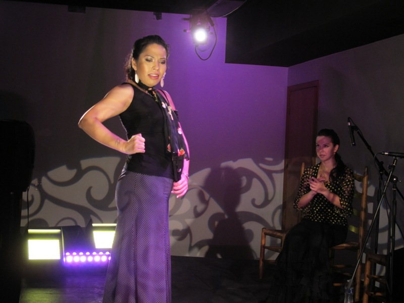 Stage lighting, ballet, with Ballet Flamenco LaRosa, at Performing Arts Network, Miami, FL