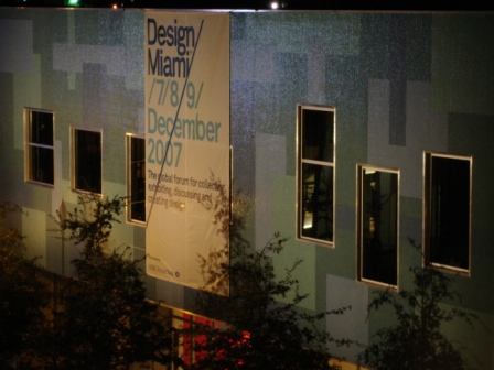 Lighting, exhibit, art show,  with 'Design Miami', Midtown Miami, FL