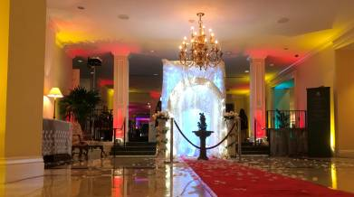 Lighting, fashion event, fundraiser, The 64th Annual Beaux Art Costume Ball 'Viva Las Vegas', Riviera Country Club, Coral Gables, FL