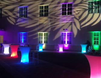 Lighting, fundraiser, LED, Doctors Charter School of Miami Shores, FL