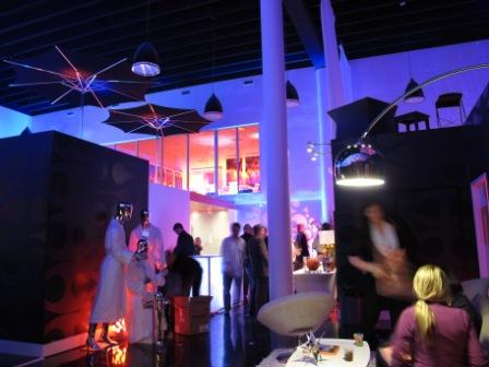 Uplighting, LED, showroom, with Seiden & Co, Miami, FL
