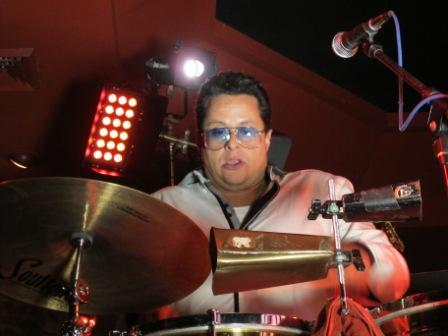 Stage concert lighting, salsa music, with 'Jazz By The Beach', featuring Tito Puente, Jr, at Hollywood Beach Resort, Hollywood, FL