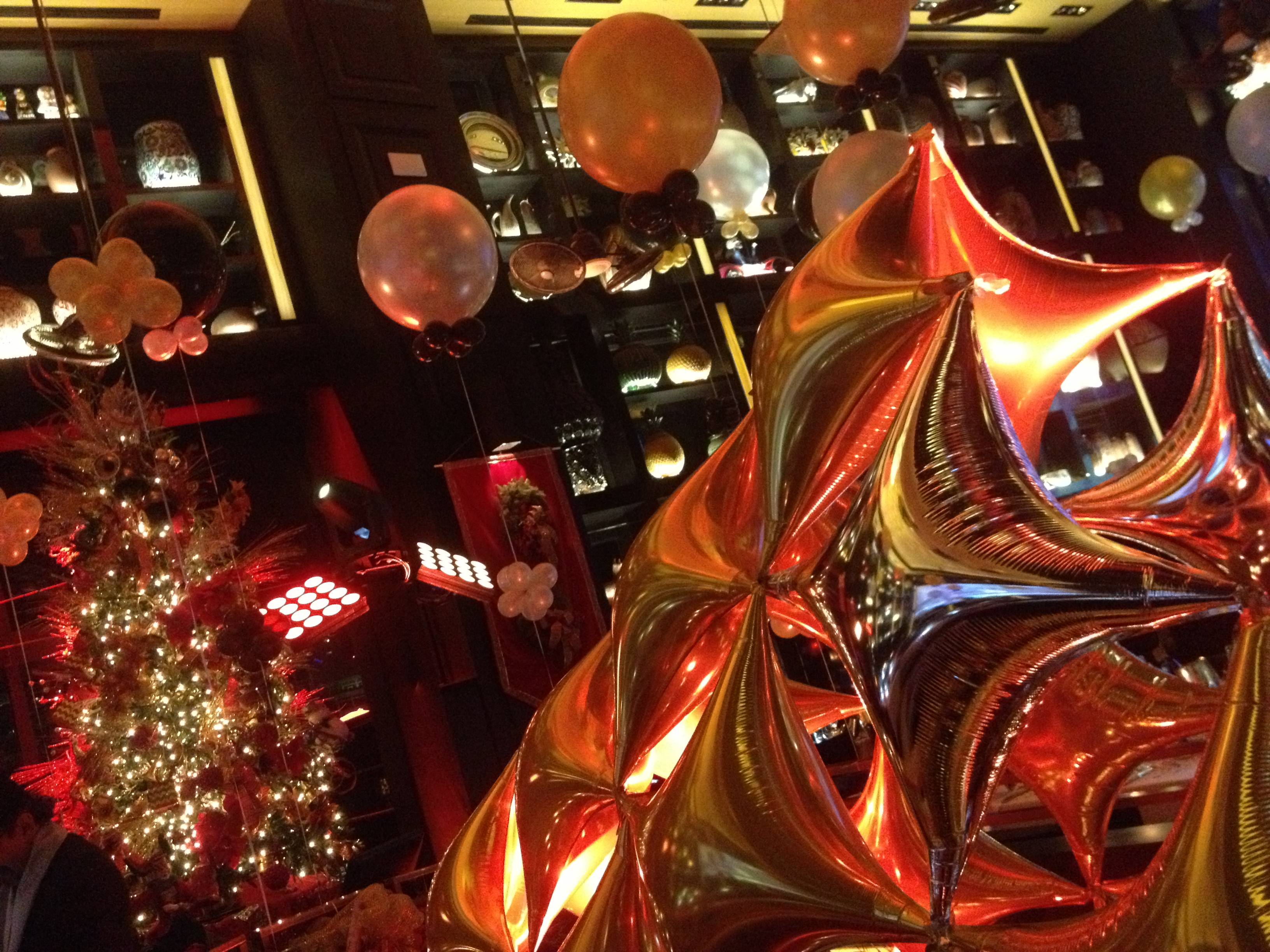 Lighting, holiday, New Year's Eve, Cantina La Veinte, Miami, FL