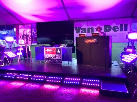 Lighting, stage, charitable, Boys Town of South Florida   OHANA Salty Classic 2021, Sailfish Marina, Palm Beach Shores, FL