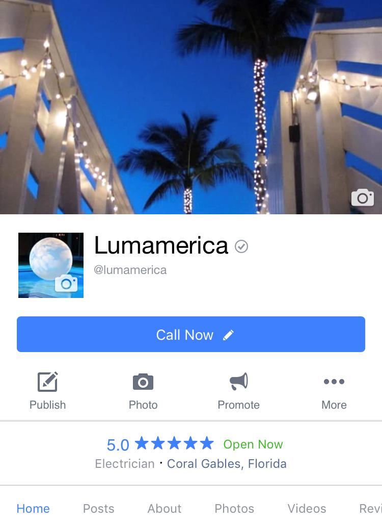 Follow LUMAMERICA on Facebook