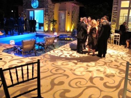 Lighting, residential, soiree, New Year's Eve, near Lantana, FL