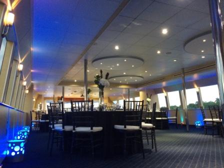 Lighting, yacht cruise, aboard 'Venetian Lady', Miami, FL